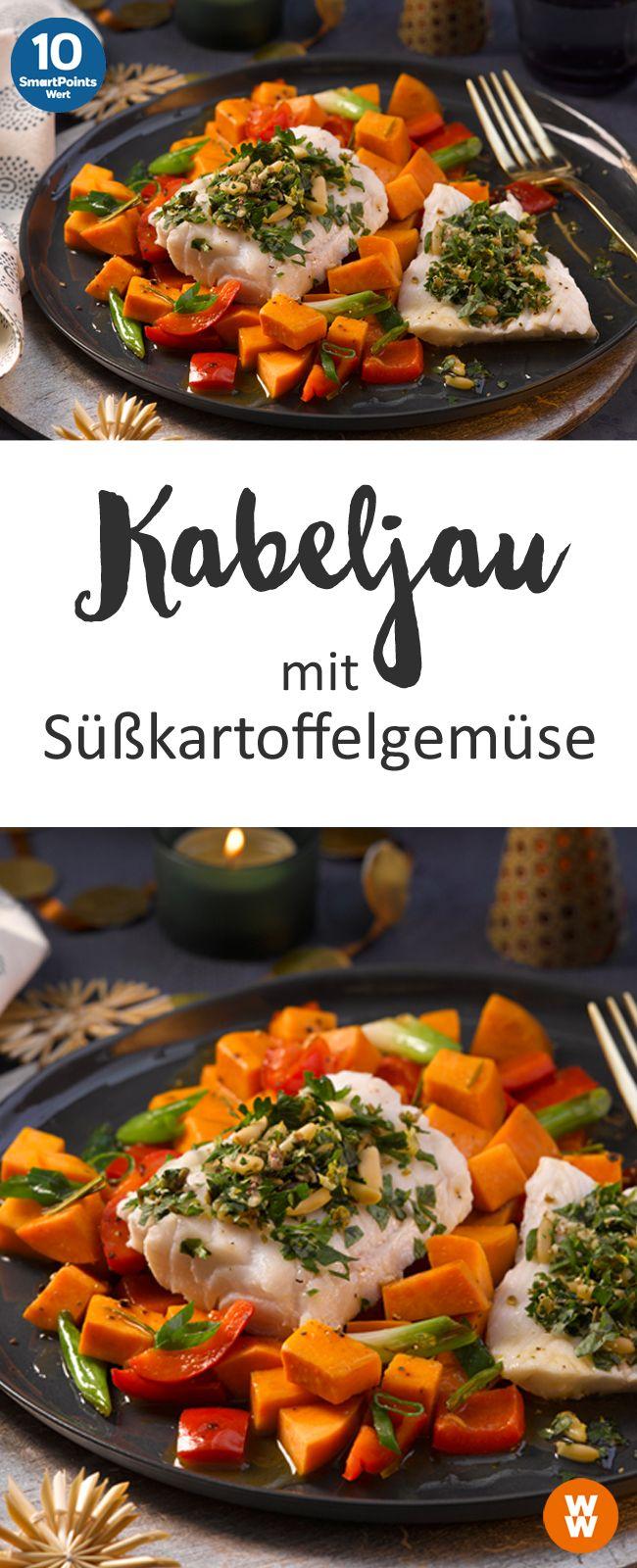 Kabeljau mit Süßkartoffelgemüse, Hauptgericht, Fisch | Weight Watchers