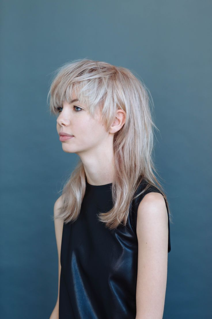 "The new layers #refinery29  http://www.refinery29.com/hair-layers-pictures#slide-6  Mullet-Meets-Bowl CutFearless ladies, meet your favorite new haircut. This 'do basically fuses two separate styles. ""I thought, What if we do a cut that's kind of a bowl-meets-mullet [on Kelly]?"" Sharpton says. He added loads of choppy layers up top, while leaving the lengths more tapered. The result was an updated mullet that skews much more modern than Billy Ray Cyr..."