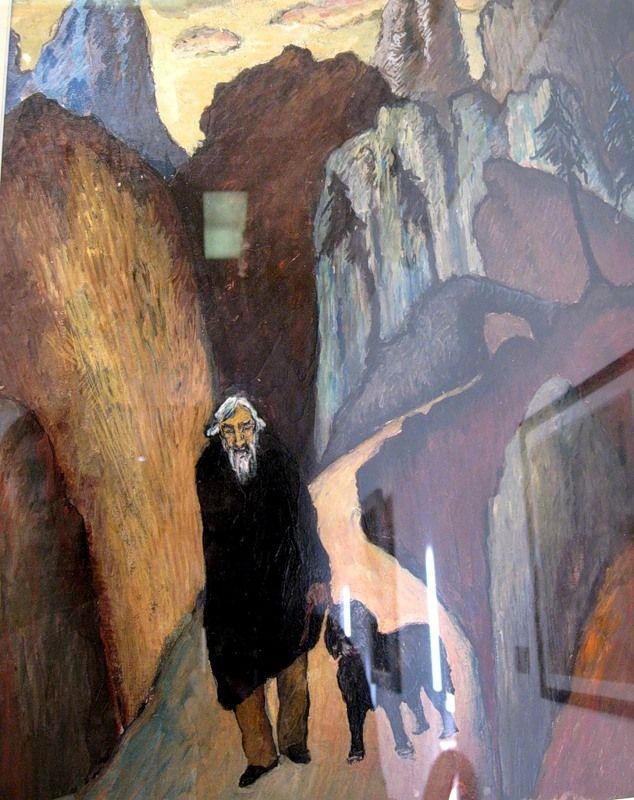 Red City   Marianne von Werefkin 1860-1938   Russian-born Swiss Expressionist painter