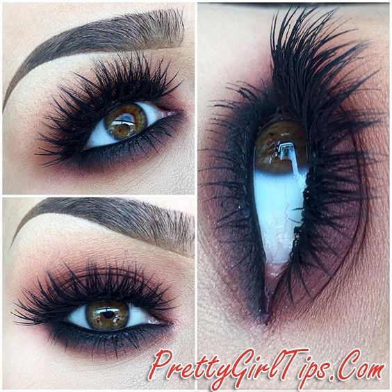 @prettygirltips 5 Tips to Fake Long -  Thick Eyelashes (Without Falsies)