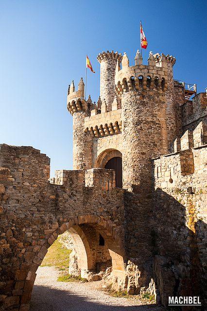 Castillo Templario de Ponferrada #Bandera #Ponferrada #España @comprarbanderas