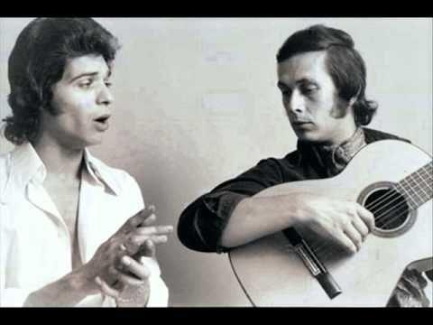 """Camaron de la isla y Paco de Lucia - Como El Agua. Camaron was the """"bad boy"""" of Flamenco, and still the best to my ears."""