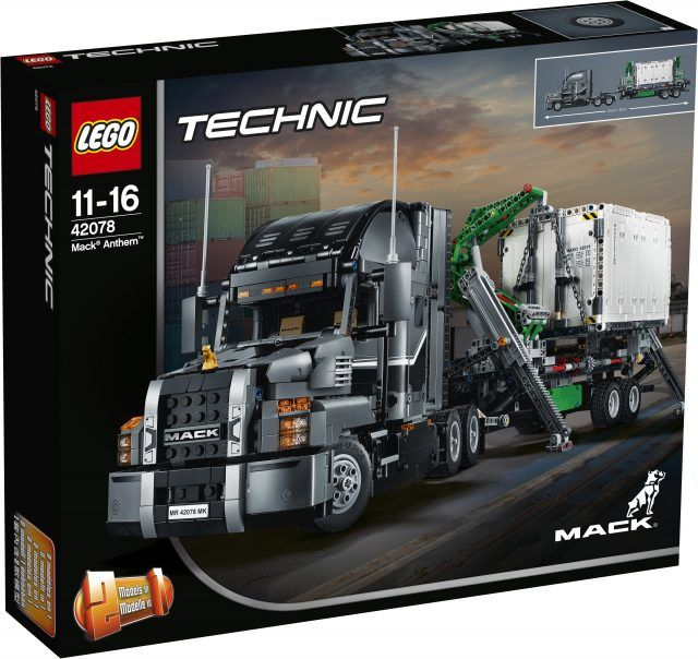 Pictures of the first wave of LEGO Technic 2018 sets are finally available including stunning 42078 Mack Truck [News]