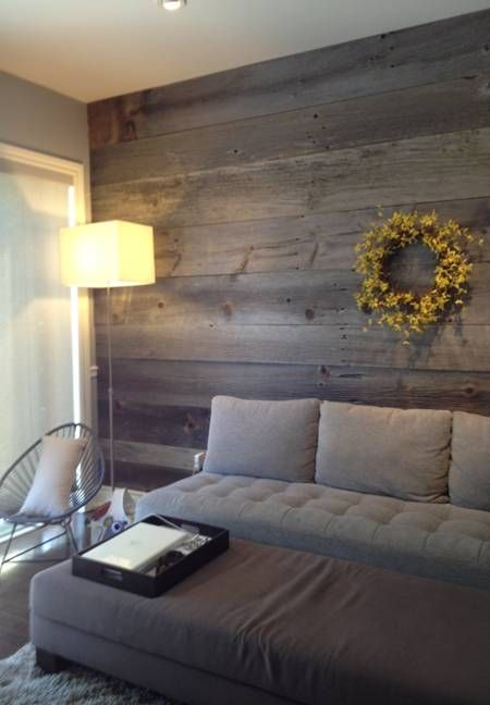 barn board | barn board and made a great feature wall in his home. Using the boards ...