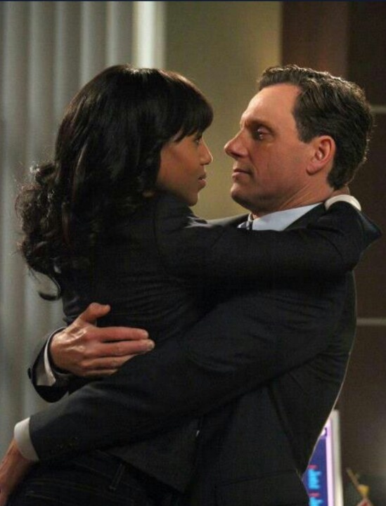 Olivia and Fitz #scandal