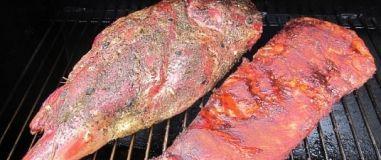 Grilujeme hovězí a jehněčí maso