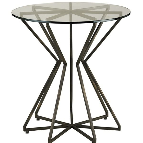 Market Best Sellers   Charbon Side Table : Currey And Company : Palette App  : Simply