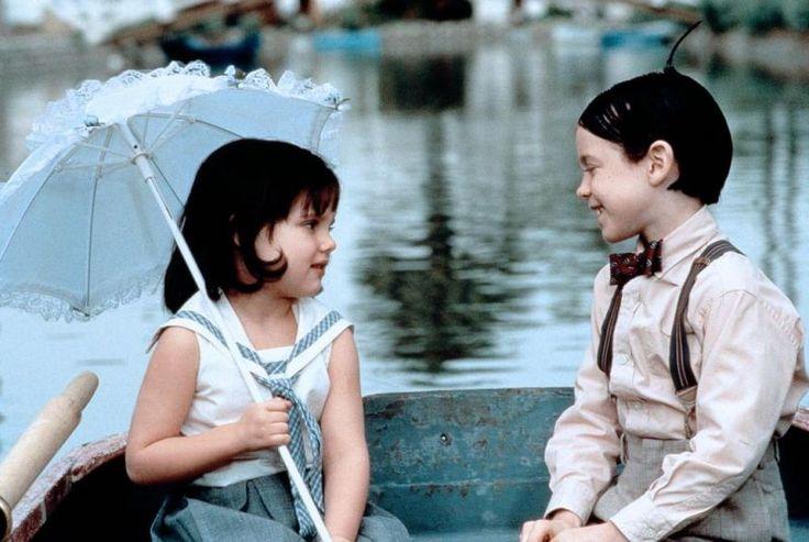 Darla (Brittany Ashton Holmes) and Alfalfa (Bug Hall) ~ The Little Rascals (1994) ~ Movie Stills
