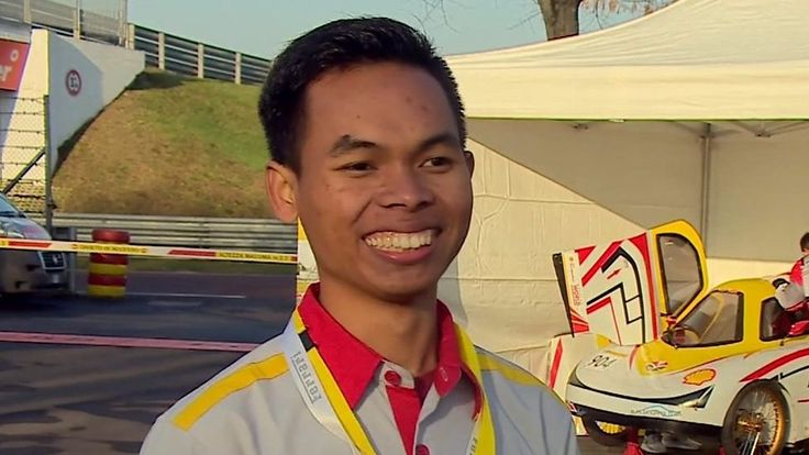 Eight Indonesian students spend a week with Ferrari's F1 team in Italy after designing a prize-winning eco-car.