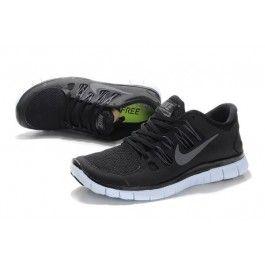 Nike Free 5.0+ Unisex Svart Hvit | Nike sko tilbud | Duty-free Nike sko på nett | Nike sko nettbutikk norge | ovostore.com