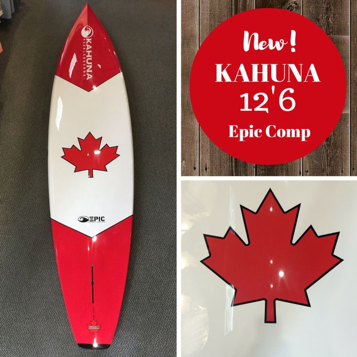 """Kahuna EPIC 12'6 - The Ultimate Touring Board! The Epic Series are all """"Hand Shaped"""" using the Epoxy Sandwich Vacuum Construction"""