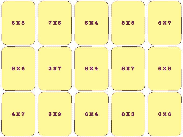 12 best tables de multiplication images on pinterest multiplication times table - Domino table de multiplication ...