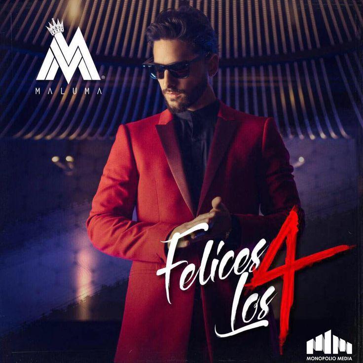 """""""Felices+Los+4""""+Sera+El+Nuevo+Sencillo+Promocional+de+Maluma"""
