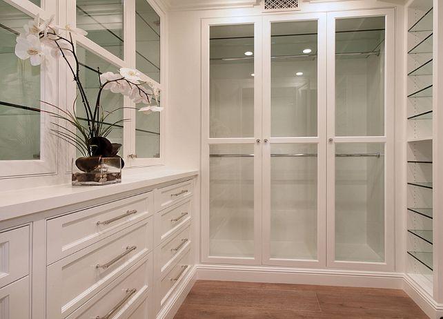 brandon architects closets built in closet custom closet glass front closet cabinets - Custom Closet Design Ideas