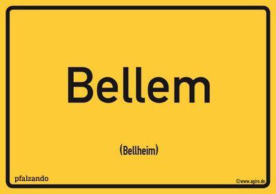Bellheim / Bellem Postkarte