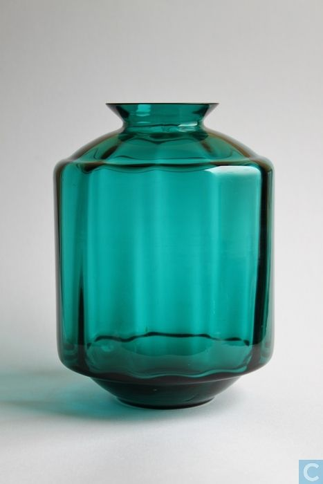 Maastricht, W.J. Rozendaal 'Lampion' vase