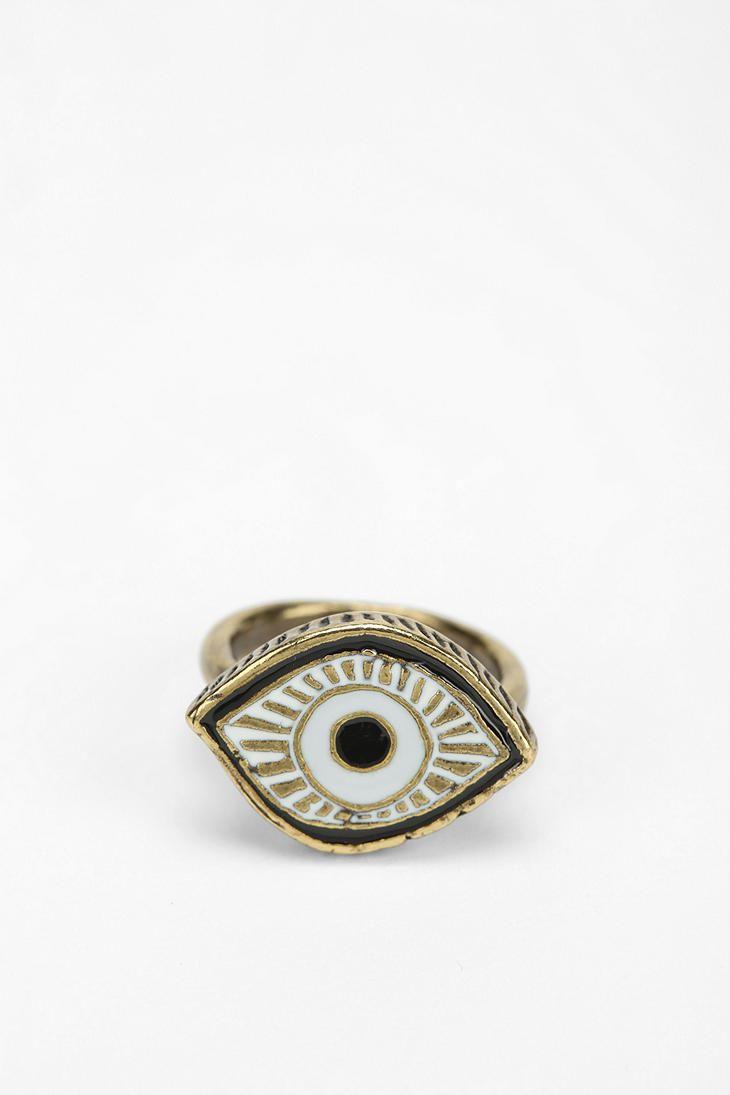 Crocodile Eyeball Ring And Evil Eye T Handmade Sterling Silver Wire Wrap Dragon Jewelry By Jandsgems