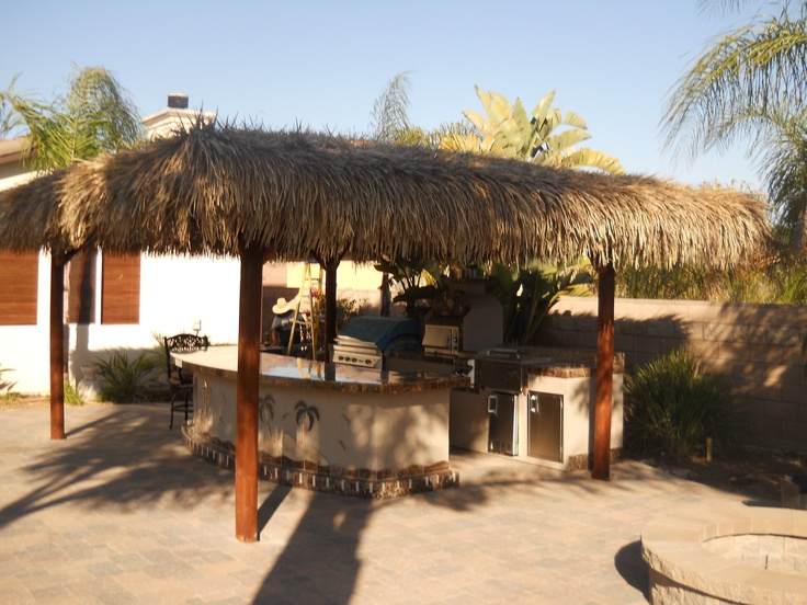 1000+ images about BBQ Island with Palapa on Pinterest on Palapa Bar Backyard id=83217