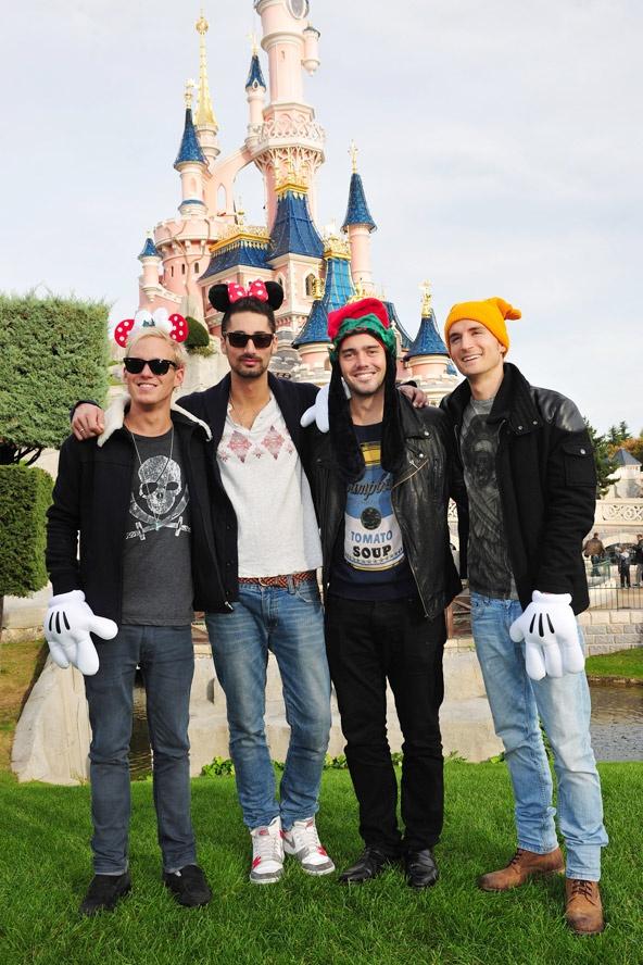 Made In Chelsea - Jamie Laing, Hugo Taylor,  Spencer Matthews and Oliver  Proudlock at  #Disneyland Paris.