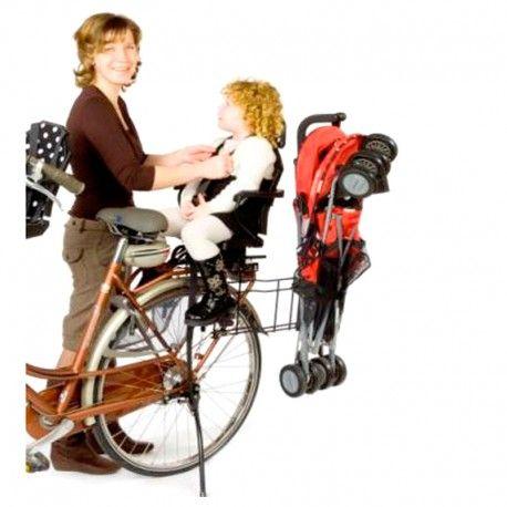 Porte poussette pour vélo