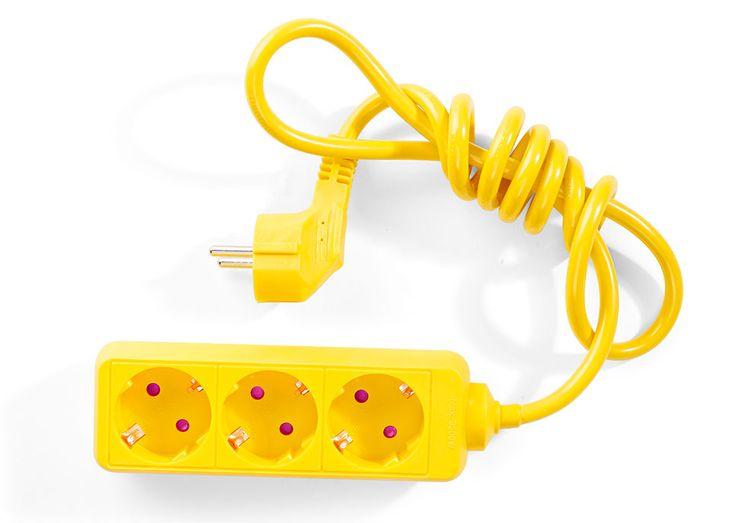 Przedłużacz żółty