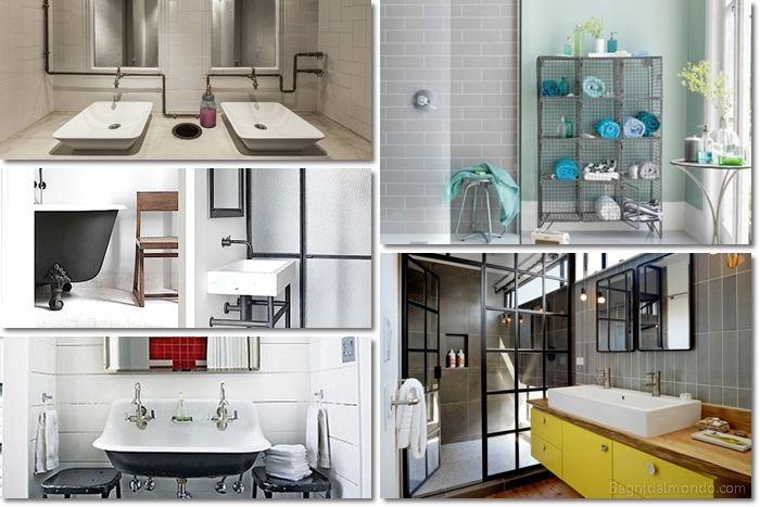 Come arredare il bagno in stile industriale