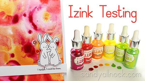 VIDEO: Izink Testing