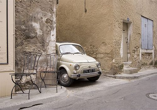 Stalking FIAT 500...