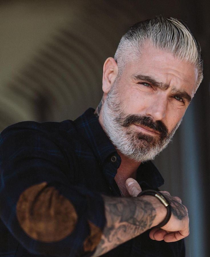 hair and beard styles best 25 grey hair ideas on 5032