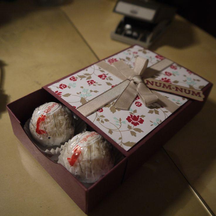 Truffles Box - Envelope Punch Board.