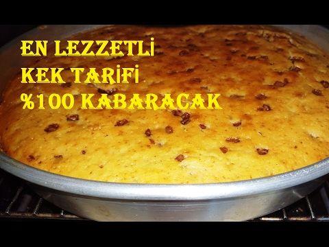 Süper Kabaran Kek Tarifi %100 Garanti / Kek Nasıl Yapılır - YouTube