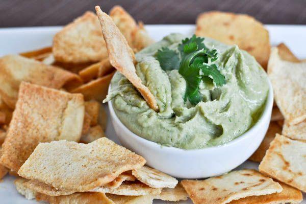 Cilantro Lime Hummus.