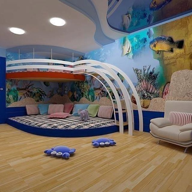 Very Cool Room And Bed!