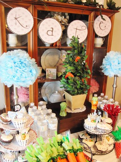 Peter Rabbit Party - Decor