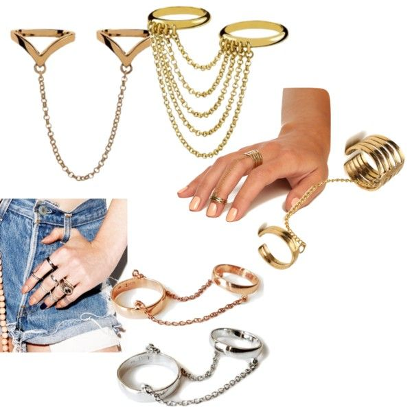 Accesorios de moda verano 2013: Anillos midi, con cadenas, ear cuffs