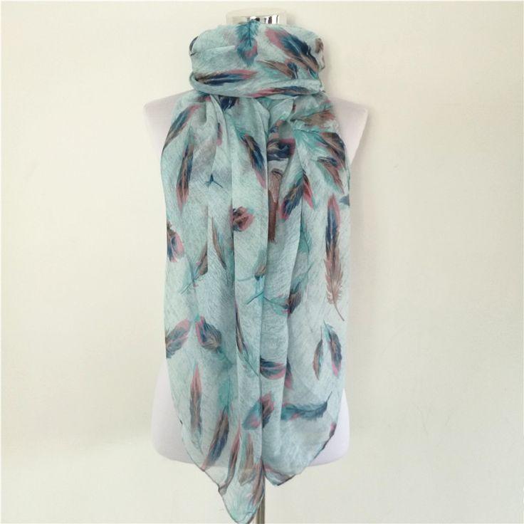 10pcs/lot Animal Feather scarf women spring scarves lady shawl hijab cape wrap foulard echarpes foulards viscose long scarf