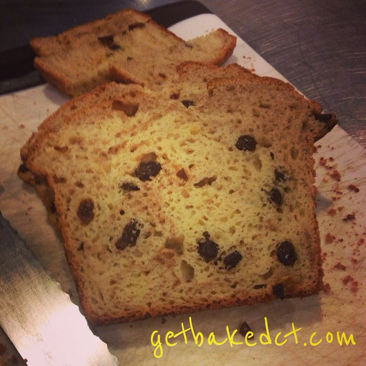 Gluten free cinnamon raisin bread! Made to order only in the shop - soooo yummy, perfect for toast and french toast!