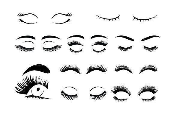 Eyelashes Svg Eyelash Svg Files Pencil Illustration Eyelashes Drawing Clip Art