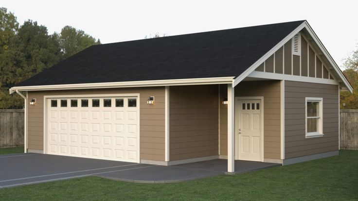 25 best ideas about detached garage on pinterest for 24x32 pole barn plans