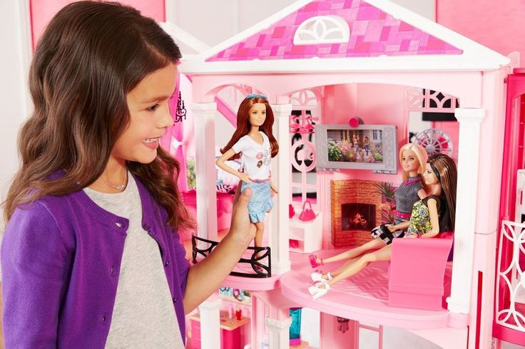 Mattel Barbie Dream House Doll Furniture Girls Play 3 Story FAST SHIPPING NEW! #Barbie