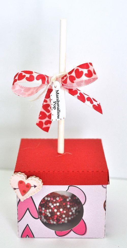 CAKE POP SINGLE BOX - MARSHMALLOW POP