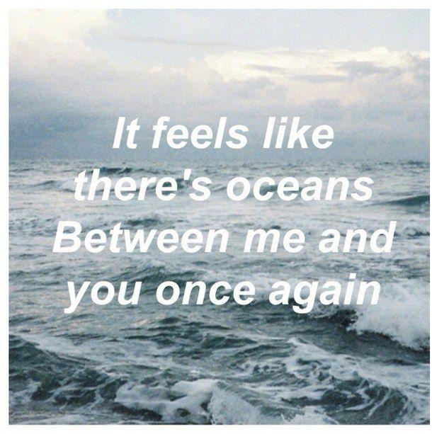 Depressed oceans lyrics