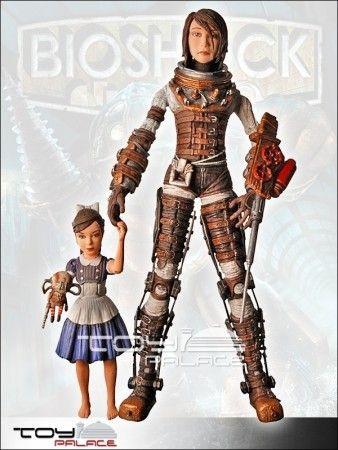 Bioshock 2 Big Sister Unmasked SDCC Exclusive 18cm