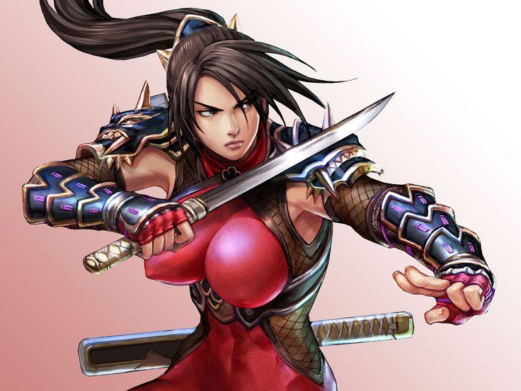 soul calibur 4 girls   Gaming Girls – Hot Girls In Games soul-calibur-4-taki – All Games ...