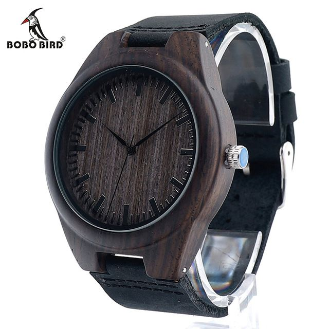 Fair price BOBOBIRD Limited Edition Bamboo Wooden Watches Men's Luxury Brand Designer Watch Leather Band Quartz Watches for Men In Gift Box just only $18.75 with free shipping worldwide  #menwatches Plese click on picture to see our special price for you
