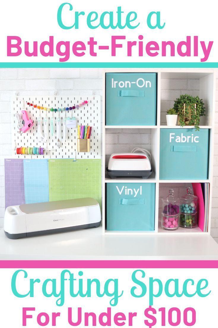 Create A Cricut Craft Room On A Budget