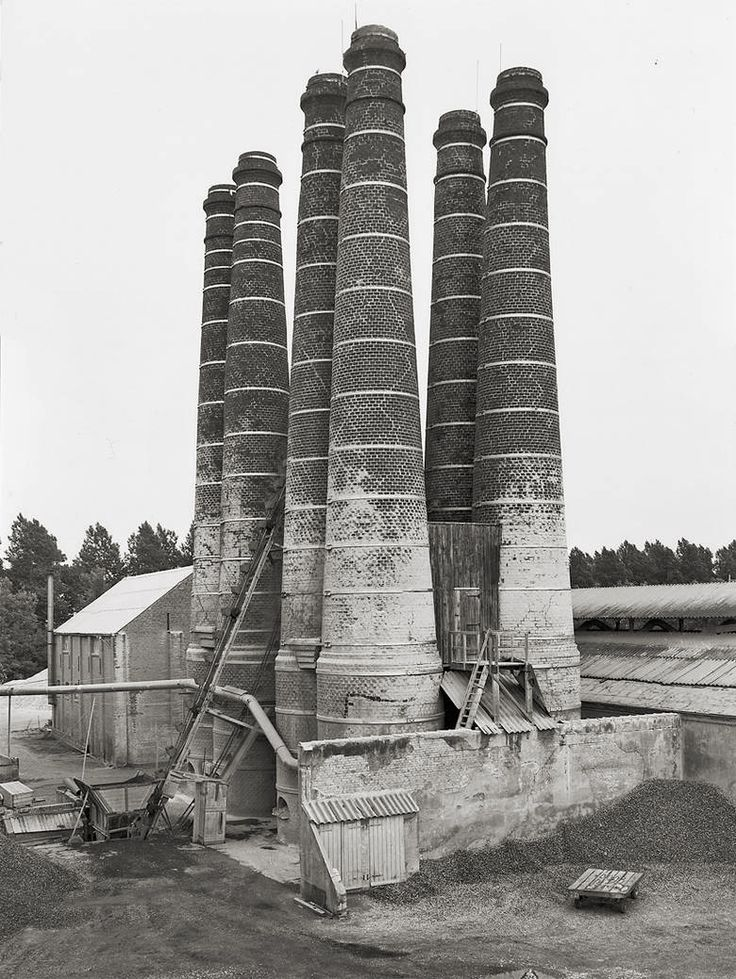 Bernd & Hilla Becher - Photography. As a more manual artist, Viktor would be the author of his own works of art; nonetheless, I can see him being interested by the geometry and beauty of these black-and-white photographs.