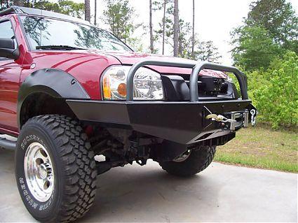 1998 2004 Frontier Front Bumper Nissan Frontier Mods Nissan Hardbody Nissan