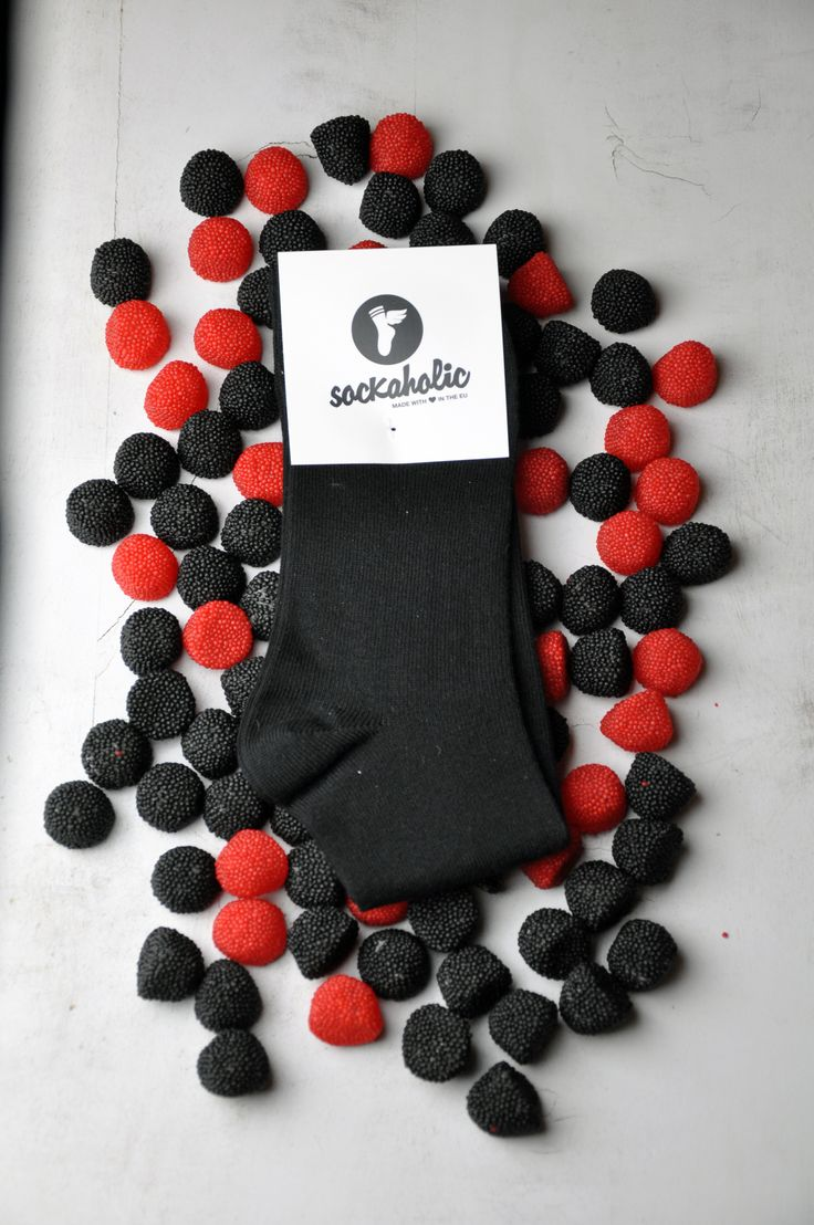 Black #sockaholic #socks #sweet #candy #feelthecolor #color