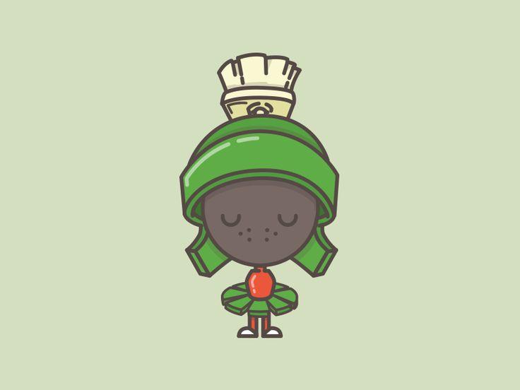 Ultra B Cartoon Characters : Marvin martian vector cartoon character pinterest